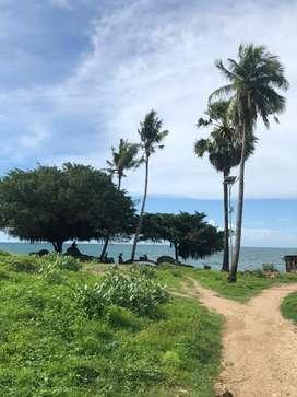 Tanah MURAH Dijual (Private Beach)