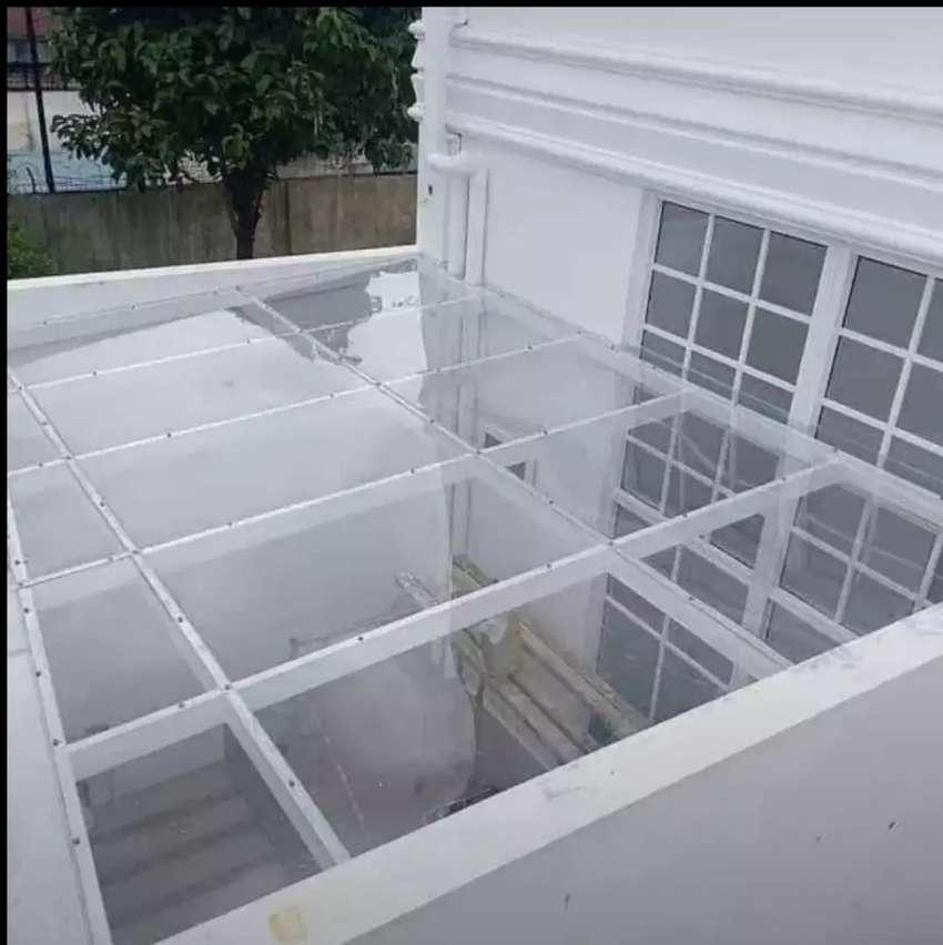 Kanopi atap kaca#09