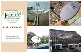 Digital electro Pasang Antena Parabola Digital Bergaransi pasang