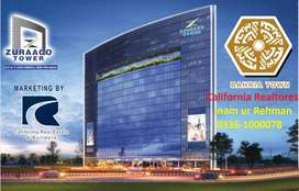 Zuraco Tower Com Offices available(Installment) in Bahria Town Karachi