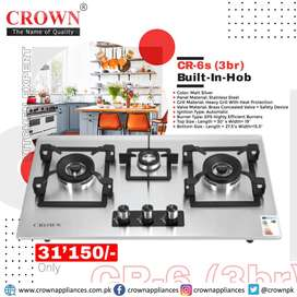 CR-6s 3br Built-In-Hob By Crown Appliances