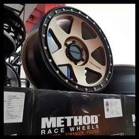 Method Velg R18 Cocok Untuk Pajero, Fortuner