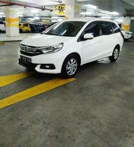 Honda mobilio E At 2017 putih