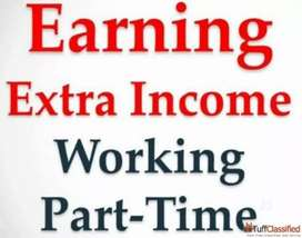 Part time full time work with good earning for extra income