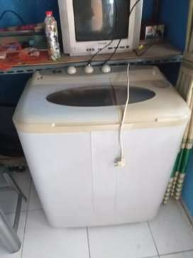 Mesin cuci 2tabung merk Panfilla elegance kap 8.5kg