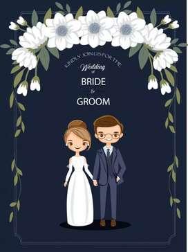 Undangan digital pernikahan ulang tahun