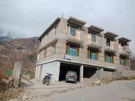 Property is only 5 k.m away from main manali Bus stand