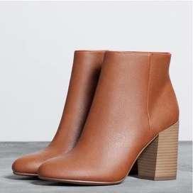 Sepatu boots merk bershka