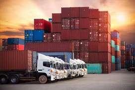 Jasa pengiriman barang truck / trailer / wing box