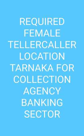 WANTED FEMALE FEMALE TELLERCALLER