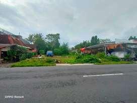 Tanah murah pinggir jalan raya jakal km 9