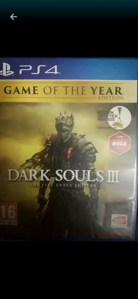 Dark souls 3 game of the year edition ps4 PS4 and included 2 DLCs