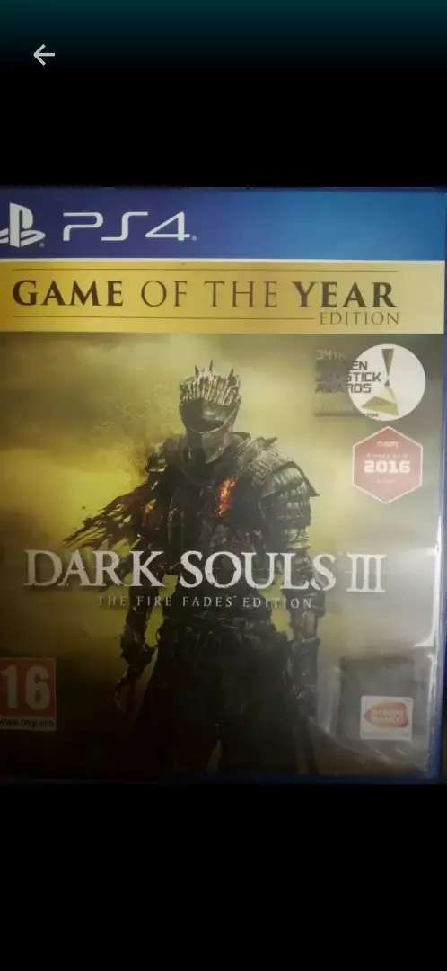 Dark souls 3 game of the year edition ps4 PS4 and included 2 DLCs 0