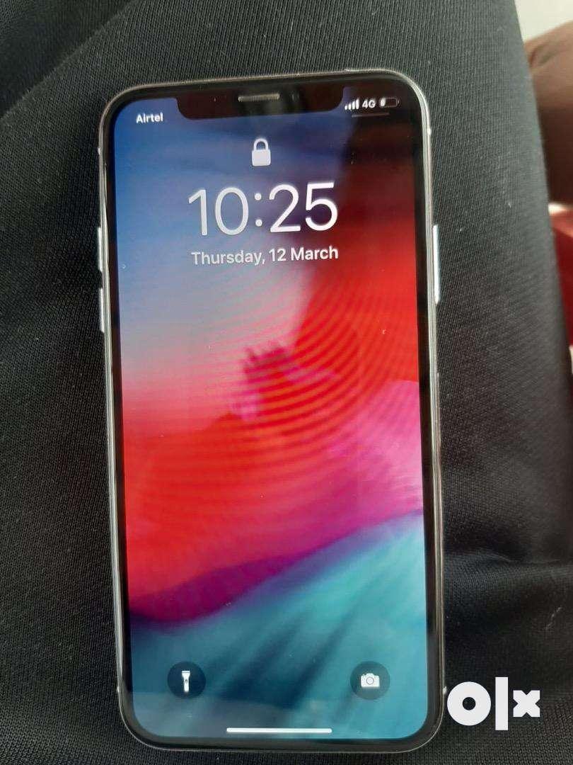 Iphone x 64gb white 0