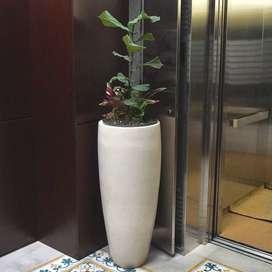 Pot Vas Taman Mewah dan Cantik Handmade Terazzo
