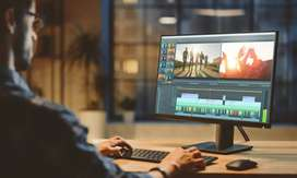 Video editor requirement for video making , work from home
