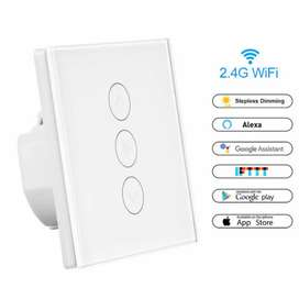 Wifi Fan dimmer Also Curtains blind motorized Switch for On / Off