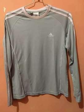 Kaos baju mainset baselayer adidas grey original