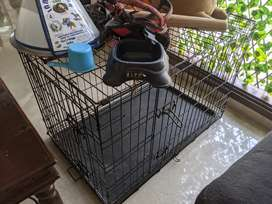 Double door dog cage (30 inch)