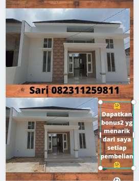 Rumah cantik cluster Pekanbaru kota