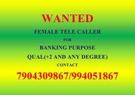 female telecaller