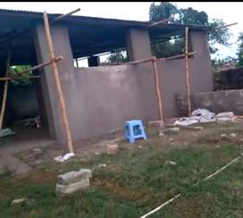 7000SQFT. LAND WITH GODOWN  FOR SALE FOR FIVE YEAR  (NO RENT) NH SIDE
