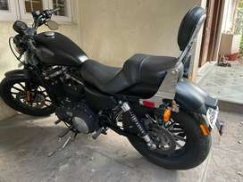Harley Davidson Iron 883, Matt Black, Mint Condition, 8300 KM running.