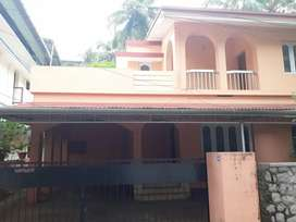 An Independent House For Rent at West Fort Thrissur
