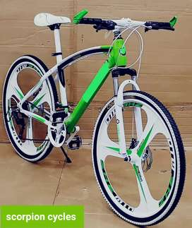 Brand New Bicycles with Shimano gears