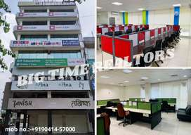 LUCKNOW 800 to 3500sqft. fully furnished office space on LEASE/RENT