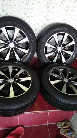 for datsun go velg r15 plus ban