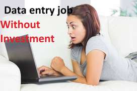 Data entry job Simple ms word typing genuine data entry work