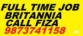 Britannia Full Time Job apply in helper,store keeper,supervisor now