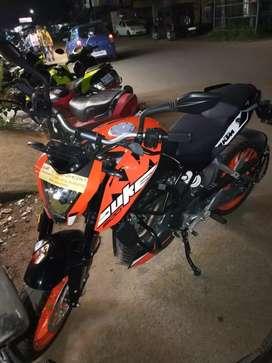 New KTM Duke 200