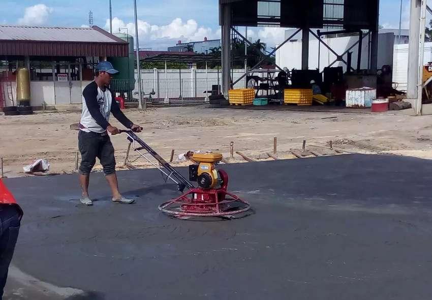 Trowel Perata Lantai Cor dan Floor Hardener Pekanbaru 0