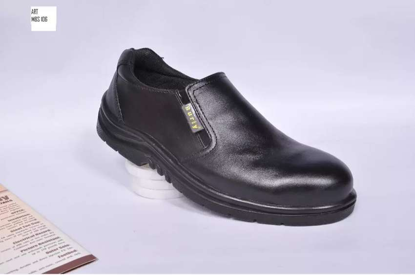 BURLY Leather Safety shoes 0