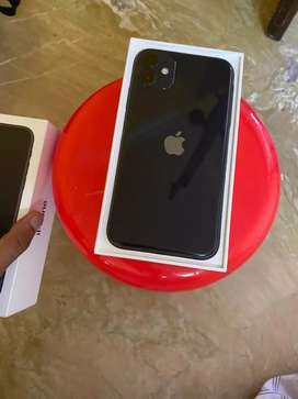 iPhone 11 128gb black on brand new condition with Indian warranty