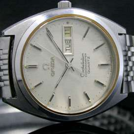 Omega Constellation Chronometer Quartz Watch (Rolex Watch Buyer)