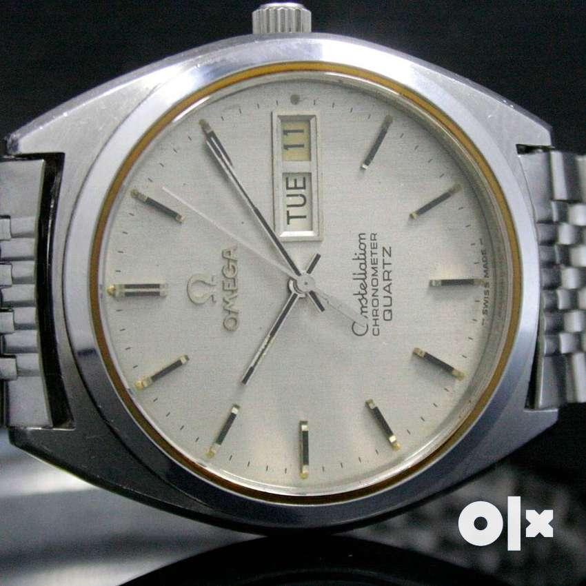 Omega Constellation Chronometer Quartz Watch (Rolex Watch Buyer) 0