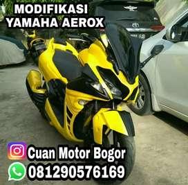 Modifikasi Body Costum Yamaha Nmax, Yamaha Aerox & Honda PCX