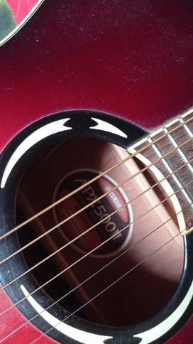 Gitar akustik elektrik yamaha apx 500 II