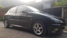 Peugeot 206 2004 hitam