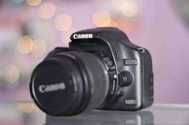 Canon 500D kit 18-55mm IS II Muraaah Mantaap