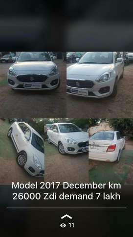 Maruti Suzuki Swift Dzire ZDI, 2017, Diesel