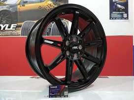 Kredit Velg Mobil Altis New, Ertiga, Innova Ring 17 HSR Wheel