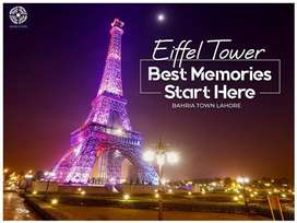 7 Marla Outstanding facing Eiffel tower house for sale bahria town
