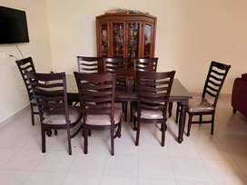 Dining Table 8 seats Wooden.