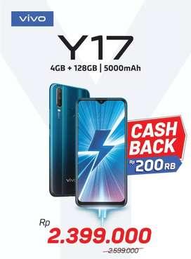 Vivo Y17 Cash Back 200k