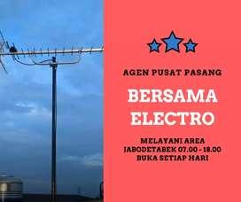 Ahli jasa pasang sinyal antena tv murah