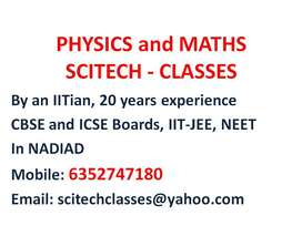PHYSICS and MATHS Classes by IITian